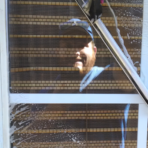 Window Cleaning Reflection 2